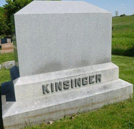 KINSINGER, MONUMENT - Champaign County, Ohio | MONUMENT KINSINGER - Ohio Gravestone Photos