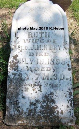 EGBERT KIRBY, RUTH - Champaign County, Ohio | RUTH EGBERT KIRBY - Ohio Gravestone Photos