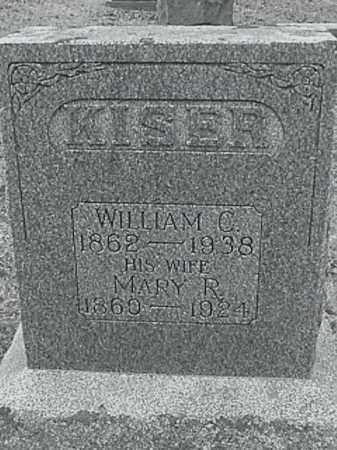 KISER, WILLIAM C. - Champaign County, Ohio | WILLIAM C. KISER - Ohio Gravestone Photos