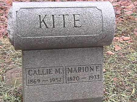 NICHLES KITE, CAROLINE M. - Champaign County, Ohio | CAROLINE M. NICHLES KITE - Ohio Gravestone Photos