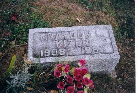 KIZER, GRAYDON L - Champaign County, Ohio | GRAYDON L KIZER - Ohio Gravestone Photos