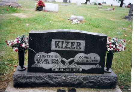 KIZER, KENNETH D - Champaign County, Ohio   KENNETH D KIZER - Ohio Gravestone Photos