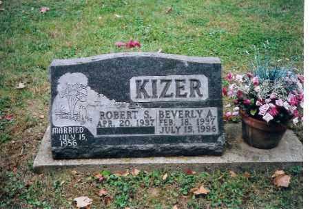KIZER, BEVERLY A. KIZER - Champaign County, Ohio | BEVERLY A. KIZER KIZER - Ohio Gravestone Photos