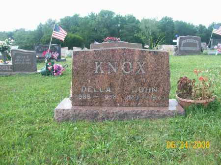 KNOX, DELLA - Champaign County, Ohio | DELLA KNOX - Ohio Gravestone Photos