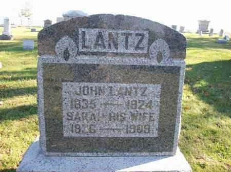 LANTZ, JOHN - Champaign County, Ohio | JOHN LANTZ - Ohio Gravestone Photos