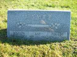 LANTZ, RAY - Champaign County, Ohio | RAY LANTZ - Ohio Gravestone Photos