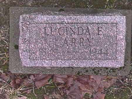 BUCK LARRY, LUCINDA ELLEN - Champaign County, Ohio   LUCINDA ELLEN BUCK LARRY - Ohio Gravestone Photos