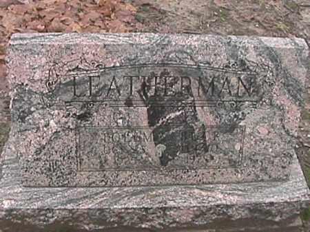 LEATHERMAN, TOLEMA - Champaign County, Ohio | TOLEMA LEATHERMAN - Ohio Gravestone Photos