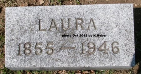 BAKER LEATHLEY, LAURA - Champaign County, Ohio | LAURA BAKER LEATHLEY - Ohio Gravestone Photos