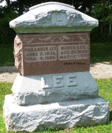EVILSIZOR LEE, MARIA - Champaign County, Ohio | MARIA EVILSIZOR LEE - Ohio Gravestone Photos
