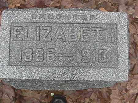 LEONARD, ELIZABETH - Champaign County, Ohio | ELIZABETH LEONARD - Ohio Gravestone Photos