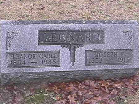 LEONARD, ELEANOR CARLO - Champaign County, Ohio | ELEANOR CARLO LEONARD - Ohio Gravestone Photos