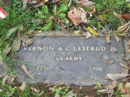 LESTRUND, VERNON A C - Champaign County, Ohio   VERNON A C LESTRUND - Ohio Gravestone Photos