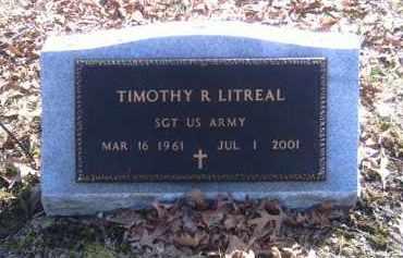 LITREAL, TIMOTHY - Champaign County, Ohio | TIMOTHY LITREAL - Ohio Gravestone Photos