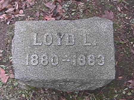 LOHNES, LOYD L. - Champaign County, Ohio   LOYD L. LOHNES - Ohio Gravestone Photos