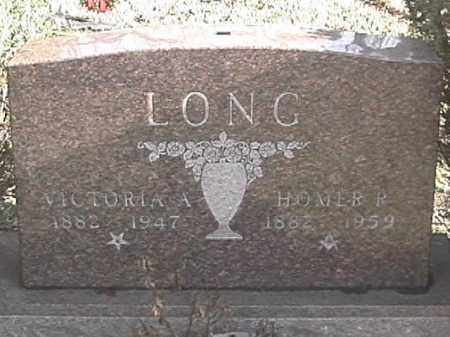 BARGER LONG, VICTORIA A. - Champaign County, Ohio | VICTORIA A. BARGER LONG - Ohio Gravestone Photos