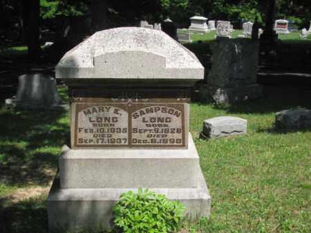 LONG, MARY - Champaign County, Ohio | MARY LONG - Ohio Gravestone Photos