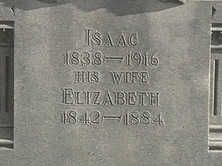LOUDENBACK, ELIZABETH - Champaign County, Ohio | ELIZABETH LOUDENBACK - Ohio Gravestone Photos