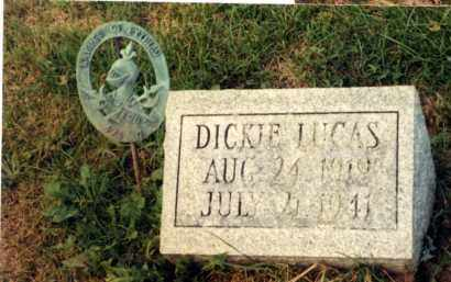 LUCAS, DICKIE RICHARD T. - Champaign County, Ohio | DICKIE RICHARD T. LUCAS - Ohio Gravestone Photos