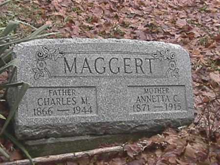 TAYLOR MAGGERT, ANNETTA C. - Champaign County, Ohio | ANNETTA C. TAYLOR MAGGERT - Ohio Gravestone Photos