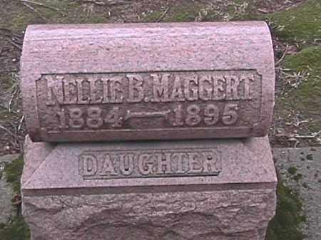 MAGGERT, NELLIE B. - Champaign County, Ohio | NELLIE B. MAGGERT - Ohio Gravestone Photos