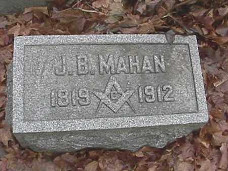 MAHAN, JOSHUA B. - Champaign County, Ohio   JOSHUA B. MAHAN - Ohio Gravestone Photos