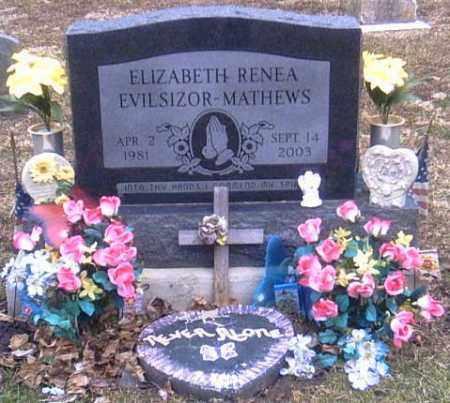 MATHEWS, ELIZABETH RENEA - Champaign County, Ohio   ELIZABETH RENEA MATHEWS - Ohio Gravestone Photos