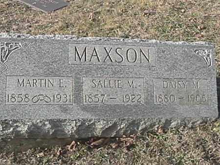 MAXSON, MARTIN E. - Champaign County, Ohio | MARTIN E. MAXSON - Ohio Gravestone Photos