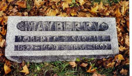 MAYBERRY, ROBERT C. - Champaign County, Ohio | ROBERT C. MAYBERRY - Ohio Gravestone Photos