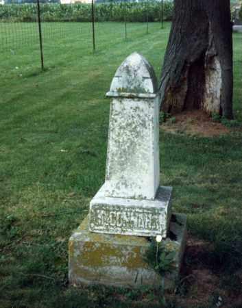 MCCONNAHA, WILLIAM - Champaign County, Ohio | WILLIAM MCCONNAHA - Ohio Gravestone Photos