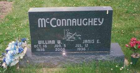 MCCONNAUGHEY, JANIS E. - Champaign County, Ohio | JANIS E. MCCONNAUGHEY - Ohio Gravestone Photos