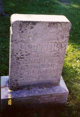 MCCONNEHAY, ANDREW - Champaign County, Ohio | ANDREW MCCONNEHAY - Ohio Gravestone Photos
