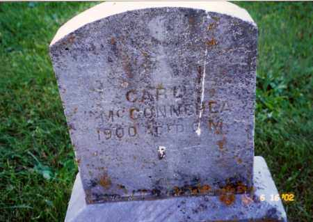 MCCONNEHEA, CARL - Champaign County, Ohio | CARL MCCONNEHEA - Ohio Gravestone Photos