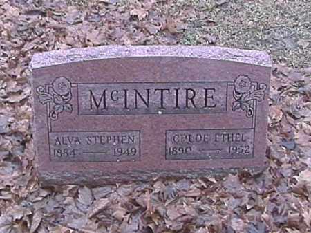 MCINTIRE, CHLOE ETHEL - Champaign County, Ohio | CHLOE ETHEL MCINTIRE - Ohio Gravestone Photos