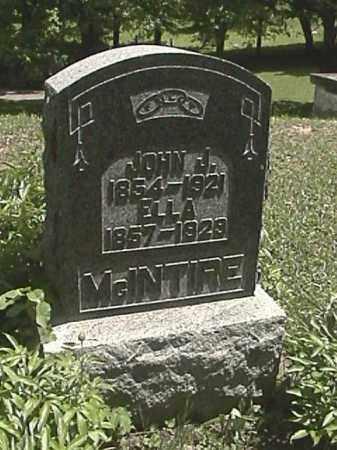 MCINTIRE, JOHN J. - Champaign County, Ohio | JOHN J. MCINTIRE - Ohio Gravestone Photos
