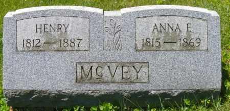 MCVEY, HENRY - Champaign County, Ohio | HENRY MCVEY - Ohio Gravestone Photos