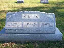 METZ, WILLIAM D. - Champaign County, Ohio | WILLIAM D. METZ - Ohio Gravestone Photos
