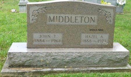 ADLARD MIDDLETON, HAZEL ANNA - Champaign County, Ohio | HAZEL ANNA ADLARD MIDDLETON - Ohio Gravestone Photos