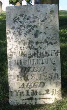 MIDDLETON, MARGARET - Champaign County, Ohio | MARGARET MIDDLETON - Ohio Gravestone Photos
