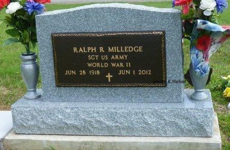 MILLEDGE, RALPH RICHARD - Champaign County, Ohio | RALPH RICHARD MILLEDGE - Ohio Gravestone Photos