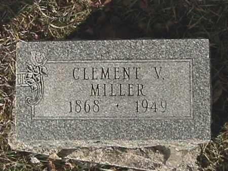 MILLER, CLEMENT V. - Champaign County, Ohio | CLEMENT V. MILLER - Ohio Gravestone Photos
