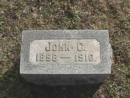 MILLER, JOHN CLEMENT - Champaign County, Ohio | JOHN CLEMENT MILLER - Ohio Gravestone Photos