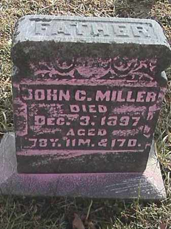 MILLER, JOHN C. - Champaign County, Ohio | JOHN C. MILLER - Ohio Gravestone Photos