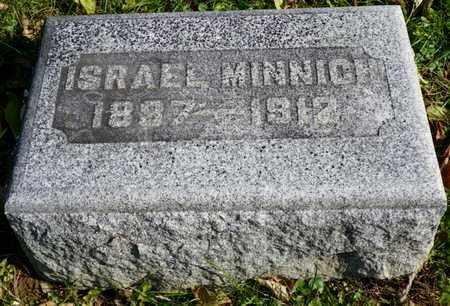 MINNICH, ISRAEL - Champaign County, Ohio   ISRAEL MINNICH - Ohio Gravestone Photos