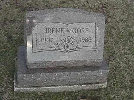 MOORE, IRENE - Champaign County, Ohio   IRENE MOORE - Ohio Gravestone Photos