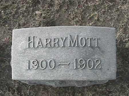 MOTT, HARRY - Champaign County, Ohio   HARRY MOTT - Ohio Gravestone Photos