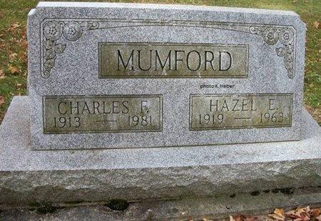 SHAFFER MUMFORD, HAZEL EUPHEMA - Champaign County, Ohio   HAZEL EUPHEMA SHAFFER MUMFORD - Ohio Gravestone Photos