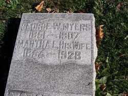 MYERS, MARTHA A - Champaign County, Ohio | MARTHA A MYERS - Ohio Gravestone Photos