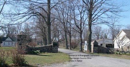 MILLER NEHER, NETTIE E - Champaign County, Ohio   NETTIE E MILLER NEHER - Ohio Gravestone Photos