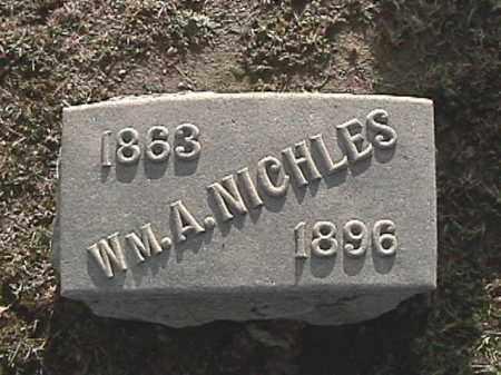 NICHLES, WILLIAM A. - Champaign County, Ohio | WILLIAM A. NICHLES - Ohio Gravestone Photos